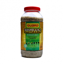 Guard Brown Basmati Rice Bottle 1.5kg